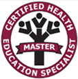 Certified Health Education Specialist | Master badge